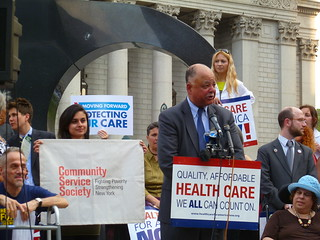 David R. Jones, Community Service Society | by Health Care For All New York