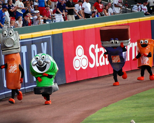 The Home Depot Mascot Race | by Bhamgal