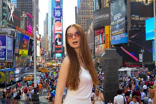 having fun @ Times Square | by yana.ukraine