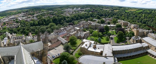 View from Durham Cathedral Tower | by 40Bicycles