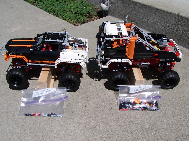 Lego Technic 9398 B Alternate Model 4x4 Offroad Truck Flickr