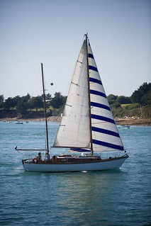 Zeilboot in Golfe du Morbihan | by BasBoerman