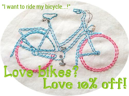 Love bikes! | by Carina » Polka & Bloom