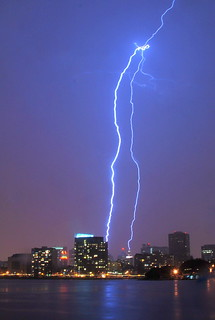 Lightning bolt, April 12, 2012, Oakland, California | by Damon Tighe