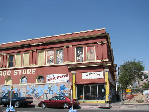 the chicago music store downtown tucson a downtown tucson flickr. Black Bedroom Furniture Sets. Home Design Ideas