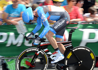 David Millar - Tour de France, prologue | by Team Garmin-Sharp