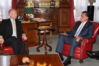 Foreign Secretary with Governor Mitt Romney | by Foreign and Commonwealth Office