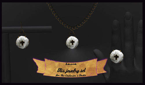 otis jewelry set for the Couturier's Docks | by riri ninni - h.m.a.e.m.