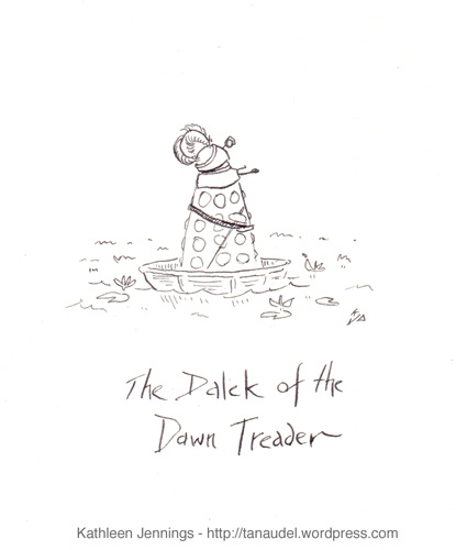 The Dalek Of The Dawn Treader | by tanaudel