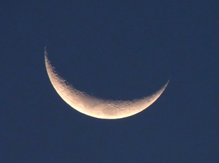15% Waxing Crescent on 21-08-2012 2 days after Ramadan | by PsJeremy