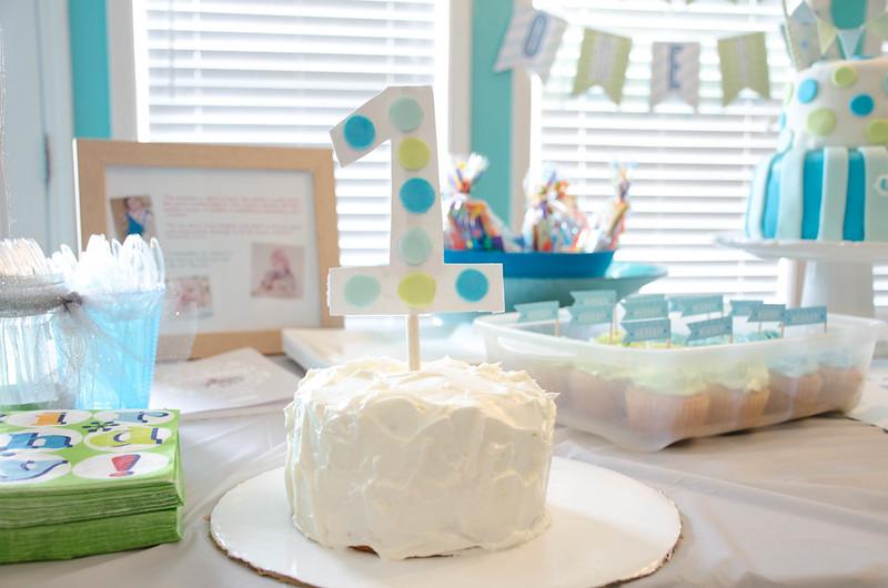 Landon's First Birthday Party