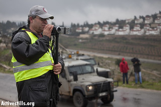 Archive photo of cameraman Billal Tamimi, Nabi Saleh 20.04.2010 | by Activestills