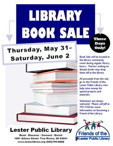 Library Book Sale | by Lester Public Library