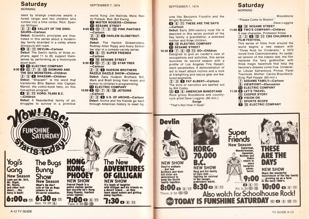 The college's tv guide from april 18 to 24 – quo vadis.