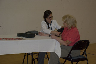 Blood pressure check | by Baker University