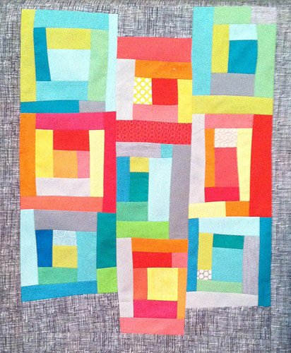Off Centered Improv Pre-Quilting | by Fresh Lemons : Faith