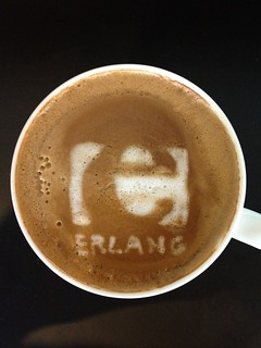 Today's latte, Erlang. | by yukop