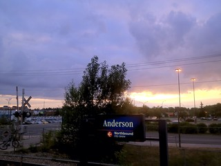 Sunrise at Anderson Station (iPhone) | by LostMyHeadache: Absolutely Free *