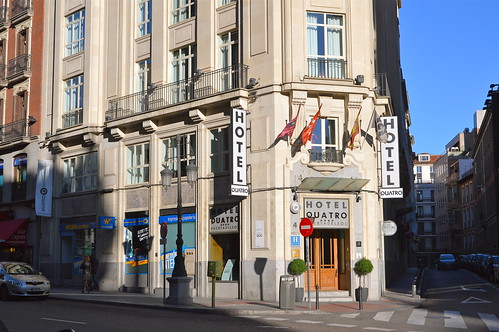 Hotel Quatro Puerta Del Sol Calle Sevilla 4 Madrid Flickr