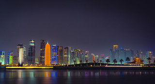 7 and New Doha Skyline I | by Doha Sam