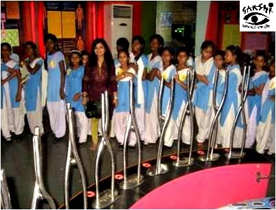 Sakshi Girls Education Project: Exposure Visit to Museum | by Sakshi NGO
