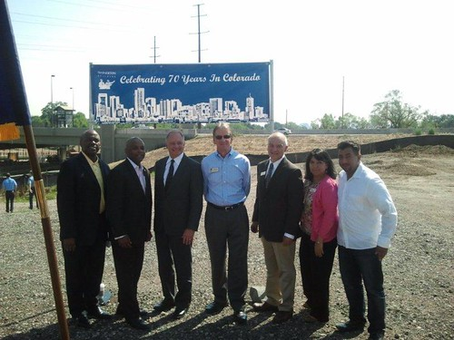 RTD Groundbreaking Final Phase of West Rail Line June 29th 2012 | by Swinerton