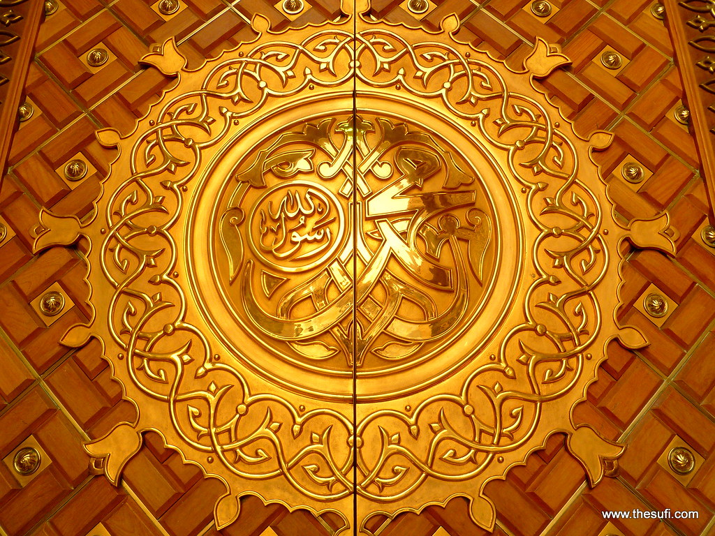 ... Golden door of masjid-e-nabwi Medina Munawara_1600px   by Waleed K Rashid & Golden door of masjid-e-nabwi Medina Munawara_1600px   Flickr Pezcame.Com