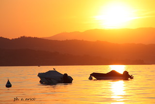 summer sunset | by Elisabetta Maria Arici - lake photographer
