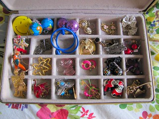 junior high earring collection | by EP Holcomb