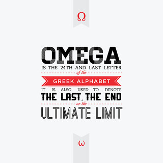 Early Letterforms - Omega | by Monique Tendencia