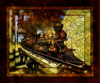 oldwest train texture | by CHARMERS•*´¨`♥