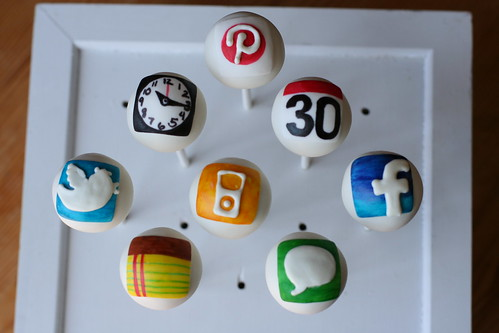 iPhone App Cake Pops | by Sweet Lauren Cakes
