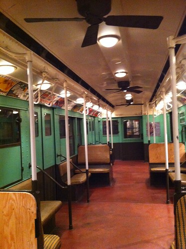 old subway car with rattan seats transit museum brooklyn flickr. Black Bedroom Furniture Sets. Home Design Ideas