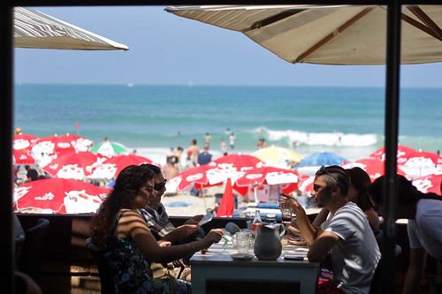 Tel Aviv beach scene | by David Lebovitz