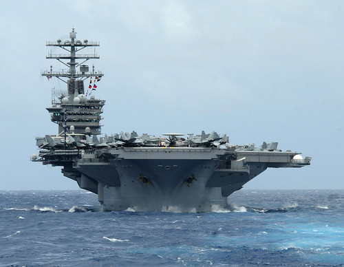USS Nimitz is underway. | by Official U.S. Navy Imagery
