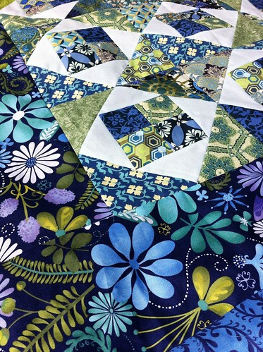 Blue Pool Quilt Top | by CoraQuilts~Carla