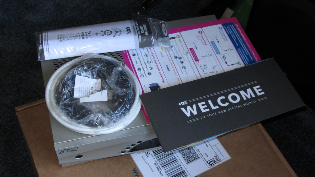 Img2680 Cox Cable Dvr Self Install Kit Ceztom Flickr