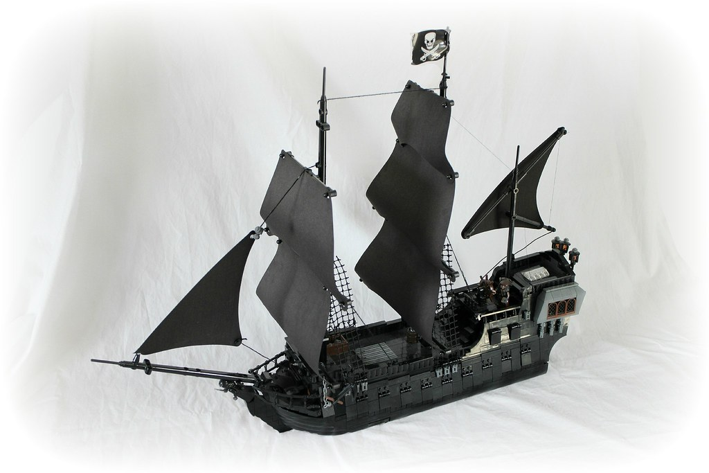 Lego Black Pearl | Some of you probably remember seeing her … | Flickr