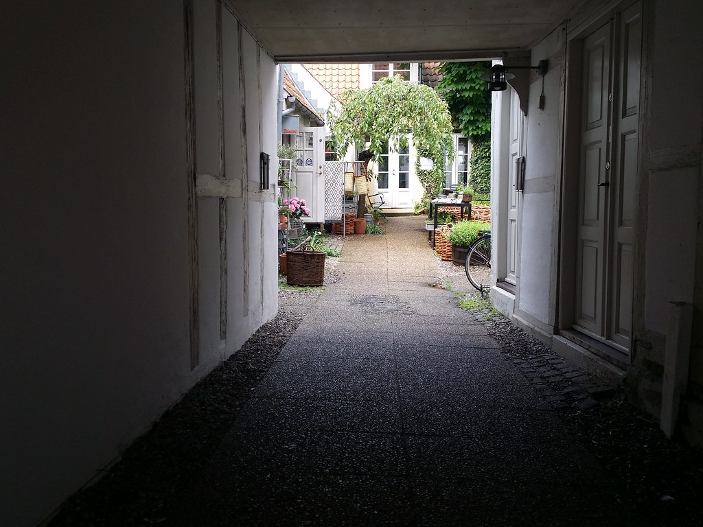 There are many hidden Gems behind the main streets of Aarhus Downtown