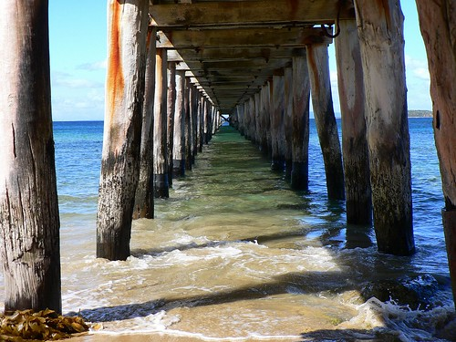 Under the Pier | by The Pocket Rocket, On and Off.