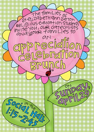 seas brunch invite | by Lori McDonough