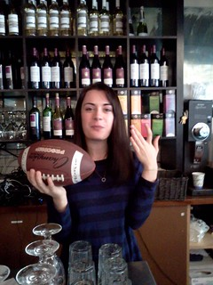 Shanna with football | by Inbal & Nir
