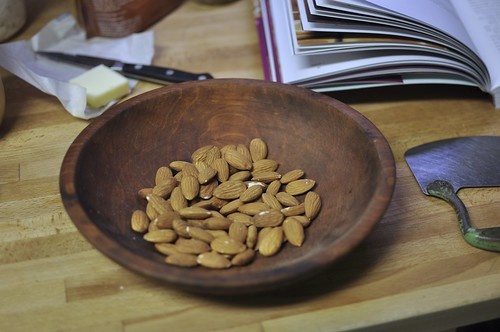 almonds for chopping | by Marisa | Food in Jars