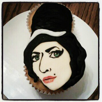 amy winehouse cupcake | by Little Sweeties Cupcakes