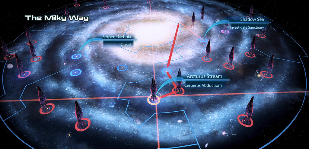 Map Of The Milky Way