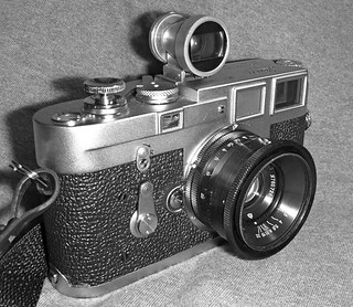 """Meet Franken-Leica, or Leica-stein...whatever!"" :P 