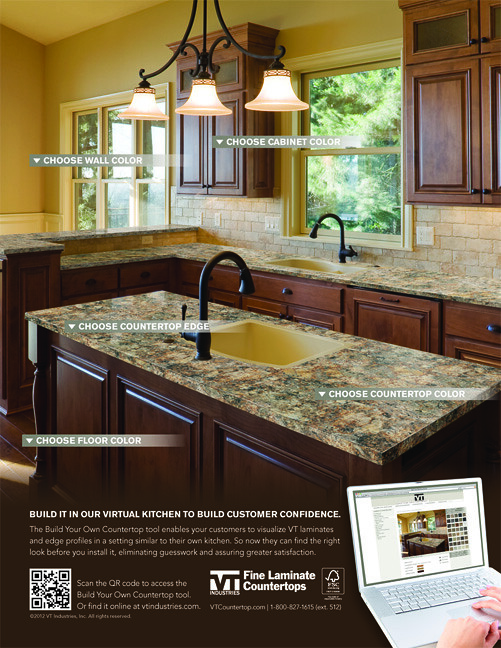 ... VT Industries Fine Laminate Countertops 3D Visualizer Ad | By VT  Industries