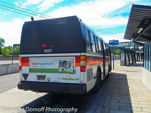 1992 gillig bus going through city in evansvilleindiana - 2 part 4