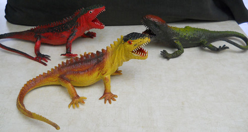 Giant Lizard Imperial Toys Hong Kong 1980 The Lizards In