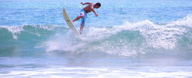 Surfing Manuel Antonio Costa Rica